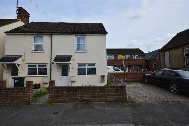 Thumbnail Semi-detached house to rent in Lower Denmark Road, Ashford, Kent