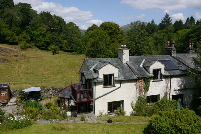 Thumbnail End terrace house for sale in Gilbert Scar Cottage, Under Loughrigg, Ambleside