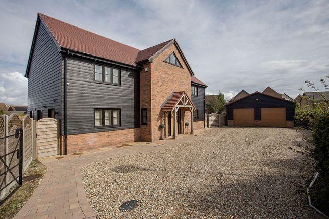Thumbnail Detached house for sale in Winsor Crescent, Hampton Vale, Peterborough, Cambridgeshire.