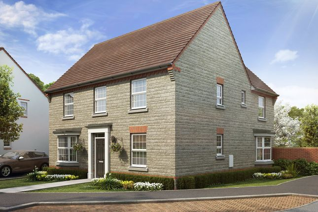 "Thumbnail Detached house for sale in ""Avondale"" at Tiverton Road, Cullompton"