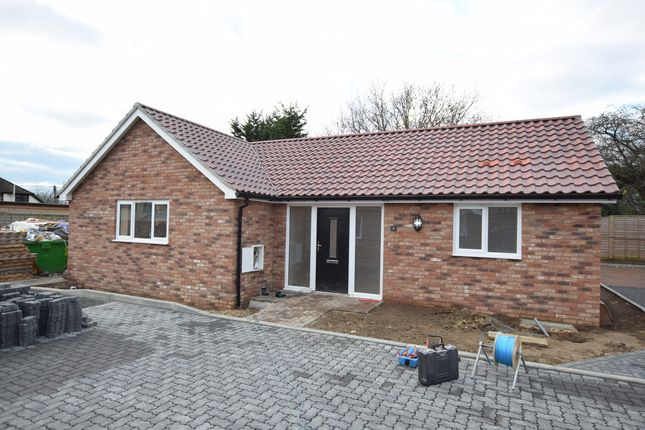 Thumbnail Detached bungalow for sale in Off Grundisburgh Road, Woodbridge