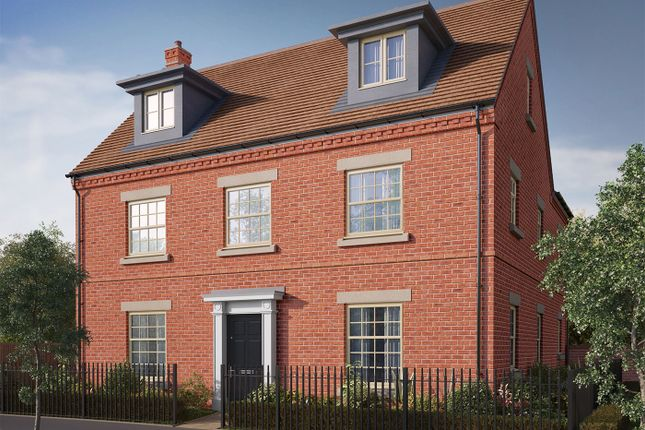 "Thumbnail Detached house for sale in ""The Milton"" at Iowa Road, Alconbury, Huntingdon"