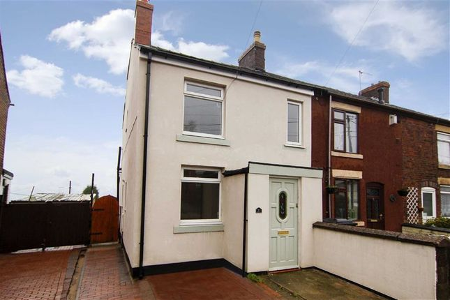 Thumbnail End terrace house to rent in Chapel Street, Mow Cop, Stoke-On-Trent