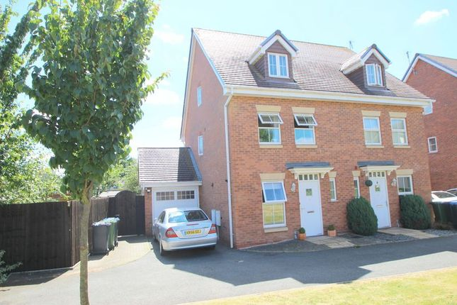 Thumbnail Semi-detached house for sale in Portia Road, Stratford-Upon-Avon
