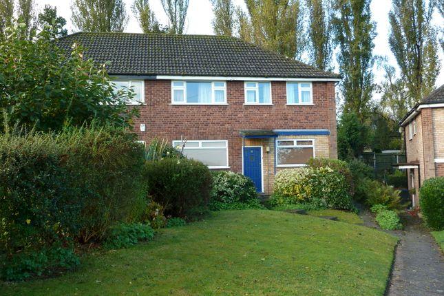 Thumbnail Maisonette for sale in Sandy Croft, Sutton Coldfield