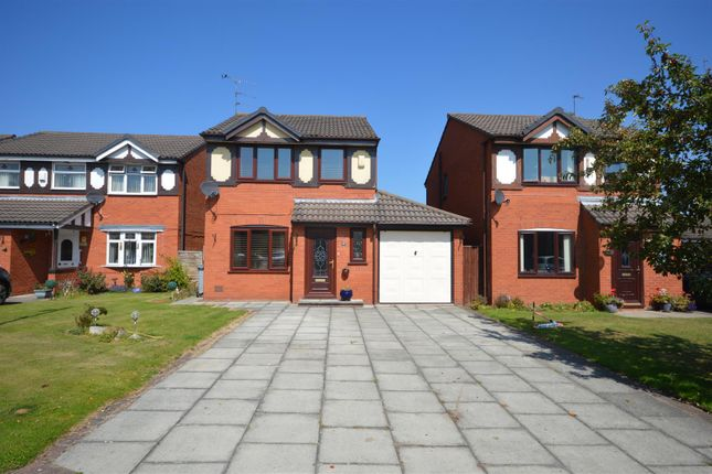 Thumbnail Detached house for sale in Wharton Close, Upton, Wirral