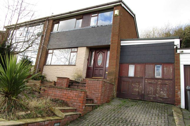 Thumbnail Semi-detached house for sale in Rishworth Rise, High Crompton, Shaw