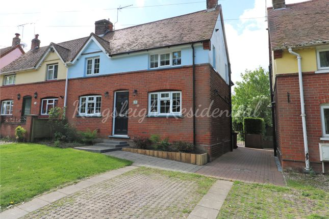 Thumbnail Semi-detached house for sale in Wignall Street, Lawford, Manningtree, Essex