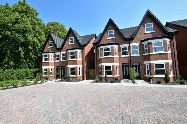 Thumbnail Semi-detached house for sale in Moss Lane, Bramhall, Stockport