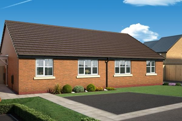 "Thumbnail Bungalow for sale in ""The Halstead At The Woodlands "" at Newbury Road, Skelmersdale"
