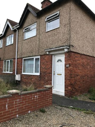 Thumbnail Semi-detached house to rent in Queens Gardens, Blyth