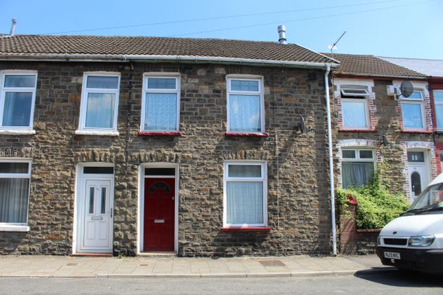 Thumbnail Terraced house to rent in Tyntyla Road, Tonypandy