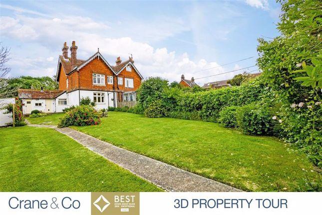 Thumbnail Semi-detached house for sale in Camberlot Road, Upper Dicker, Hailsham