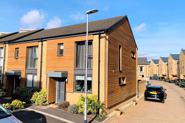 Thumbnail End terrace house for sale in Firepool Crescent, Taunton