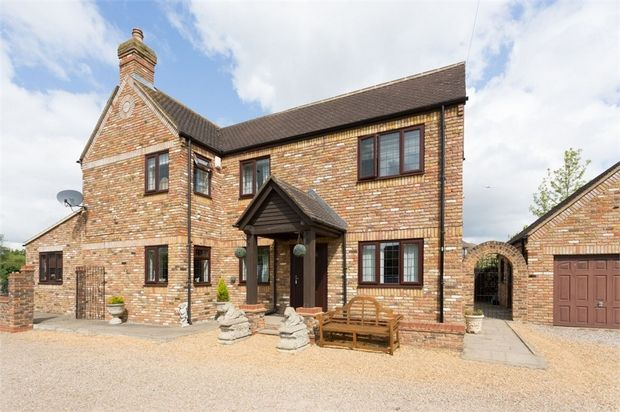Thumbnail Detached house for sale in Hithermoor Road, Staines-Upon-Thames, Surrey