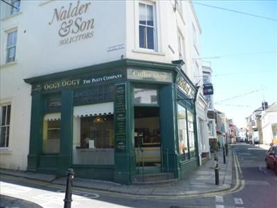 Thumbnail Restaurant/cafe for sale in Oggy Oggy Pasty Shops, Falmouth, Cornwall