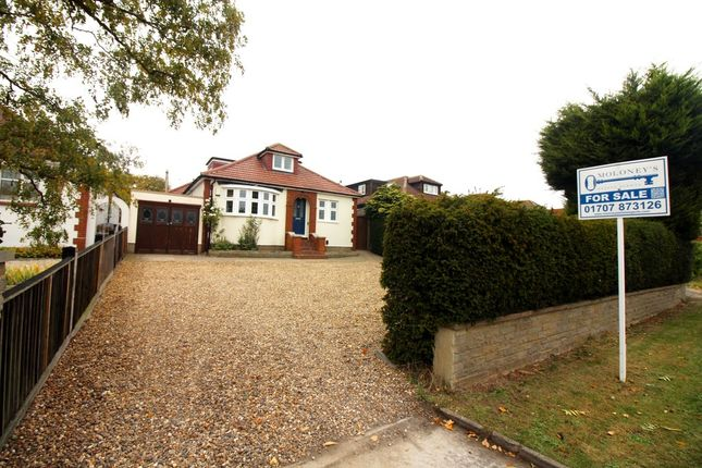 Thumbnail Detached bungalow for sale in Northaw Road East, Cuffley, Potters Bar