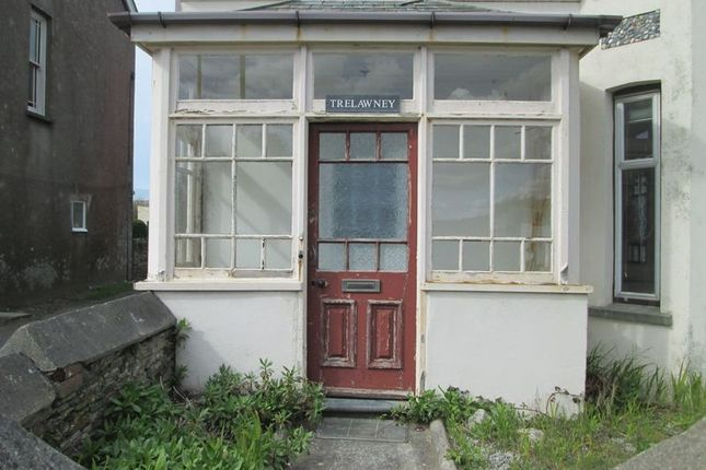Thumbnail Flat to rent in Bossiney Road, Tintagel