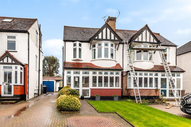 Thumbnail Semi-detached house for sale in Goodhart Way, West Wickham