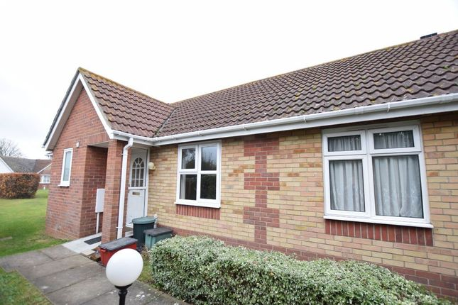 Thumbnail Terraced bungalow for sale in Lyon Close, Clacton-On-Sea