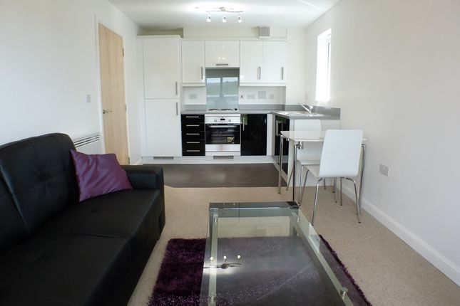 1 bed flat to rent in Sirius Apartments, Copper Quarter, Swansea SA1
