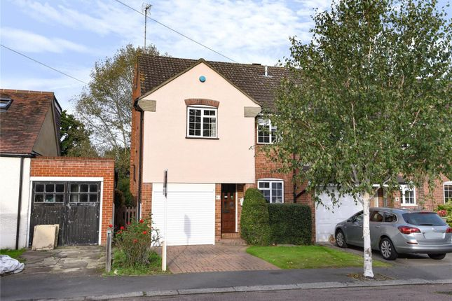 Thumbnail End terrace house for sale in The Crescent, Loughton, Essex