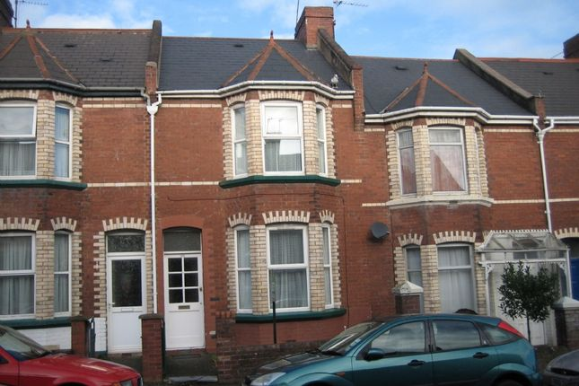 Thumbnail Terraced house to rent in Park Road, Exeter