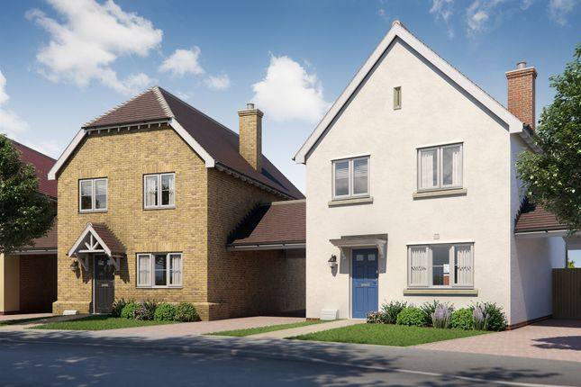 Thumbnail Link-detached house for sale in London Road, Great Notley, Braintree