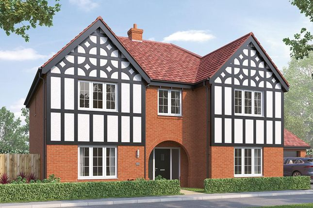 "Thumbnail Detached house for sale in ""The Oakham"" at Russell Drive, Wollaton, Nottingham"