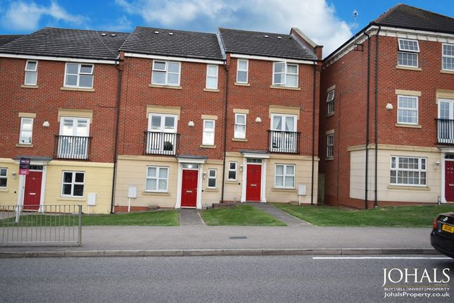 Thumbnail Terraced house to rent in Sandhills Avenue, Leicester