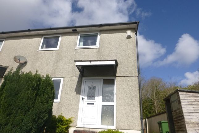 Thumbnail End terrace house to rent in Mourne Villas, Plymouth