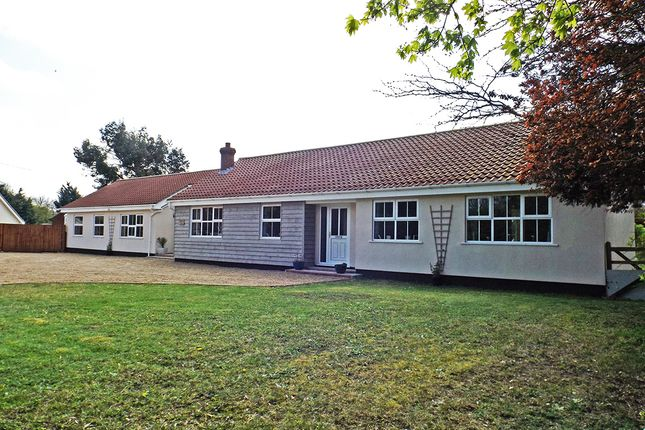 Thumbnail Bungalow for sale in Rode Lane, Carleton Rode, Norwich