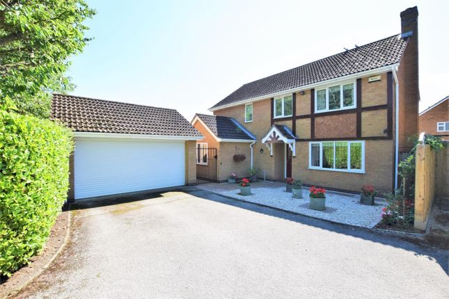 Detached house for sale in Chaffinch Close, Oakham