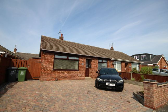 2 bed semi-detached bungalow for sale in Briar Avenue, Bradwell, Great Yarmouth