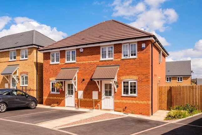 """2 bedroom end terrace house for sale in """"Ashford"""" at Arnold Drive, Corby"""