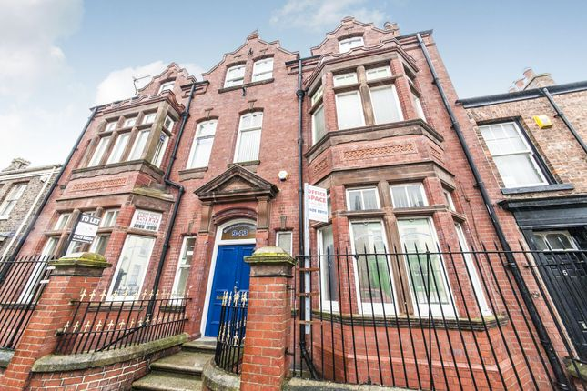 Thumbnail Office for sale in Scarborough Street, Hartlepool