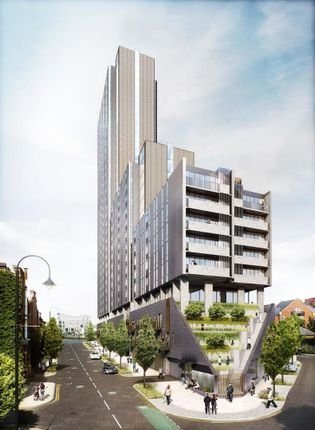Thumbnail Flat for sale in Oxygen Tower 1, Store Street, Manchester