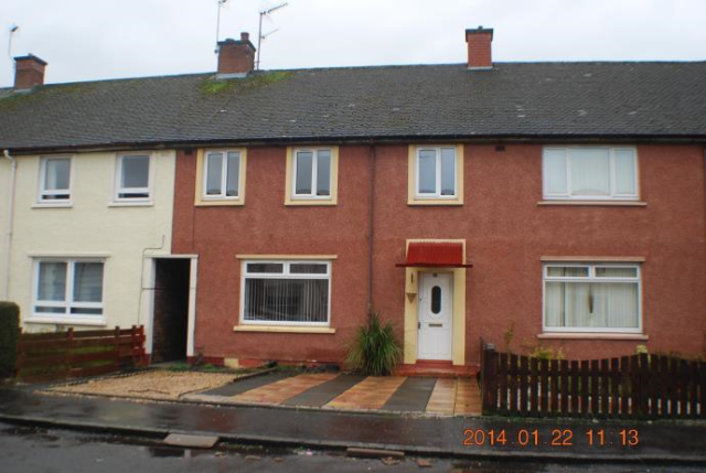Thumbnail Terraced house to rent in Park Crescent, Sauchie