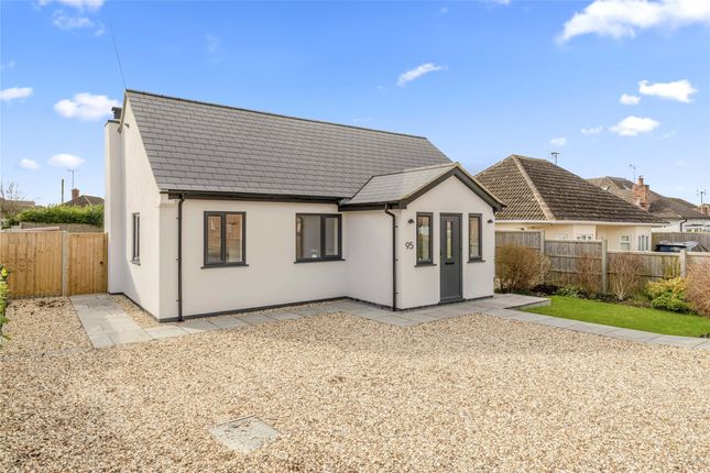 Thumbnail Bungalow for sale in Two Hedges Road, Bishops Cleeve, Cheltenham, Gloucestershire