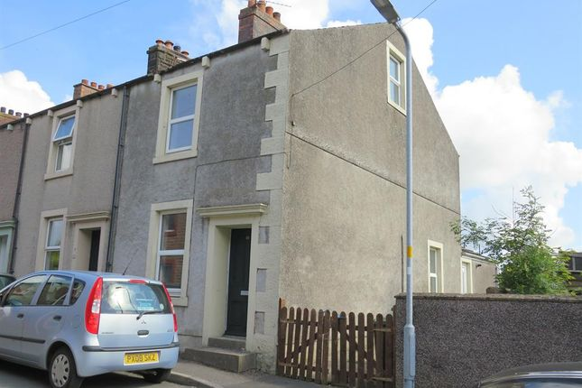 Thumbnail End terrace house to rent in Brough Street, Aspatria, Wigton
