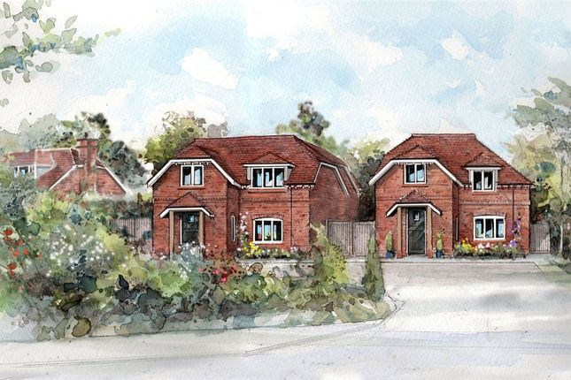 Thumbnail Detached house for sale in Deacons Lane, Hermitage, Thatcham, Berkshire