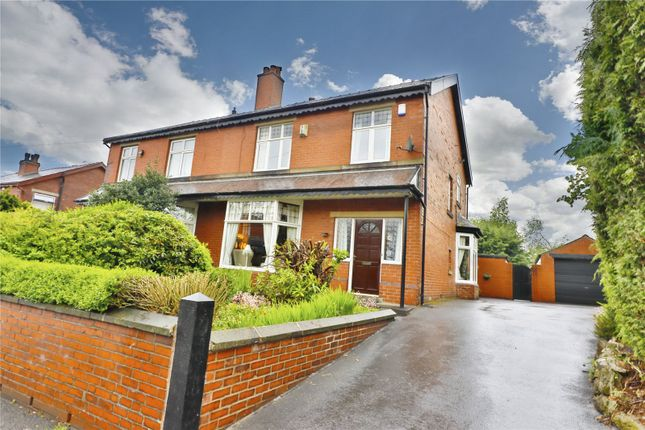 Thumbnail Semi-detached house for sale in Brandlesholme Road, Bury, Greater Manchester