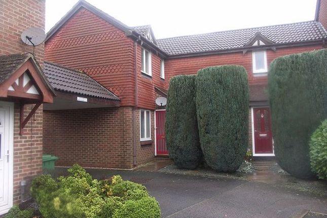 Thumbnail End terrace house to rent in Marshall Gardens, Basingstoke