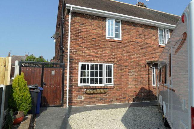 Thumbnail Semi-detached house for sale in Osborne Avenue, Woodlands, Doncaster