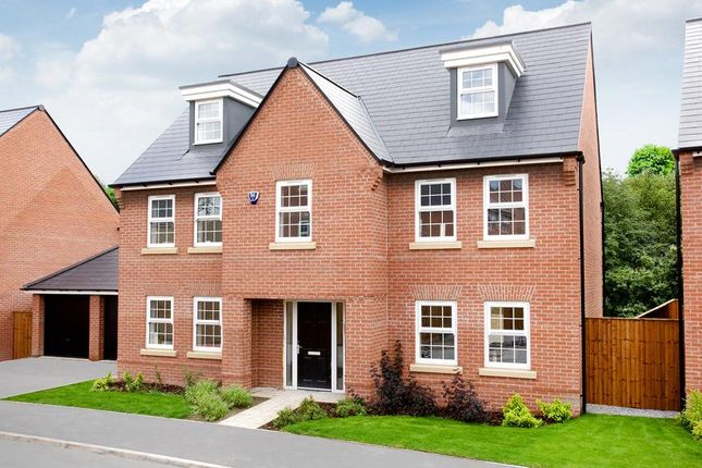 "Thumbnail Detached house for sale in ""Lichfield"" at Welbeck Avenue, Burbage, Hinckley"