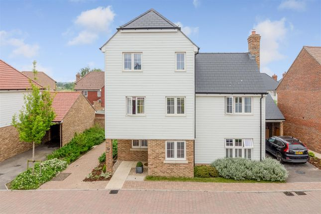 Thumbnail Detached house for sale in Song Thrush Drive, Finberry, Ashford
