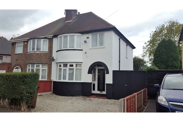 Thumbnail Semi-detached house for sale in Winchester Road, Wolverhampton