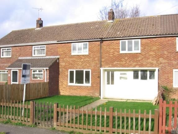 Thumbnail Terraced house for sale in Glebelands, Mersham, Ashford, Kent