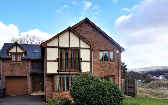 Thumbnail Detached house for sale in Valley View, Brynmawr