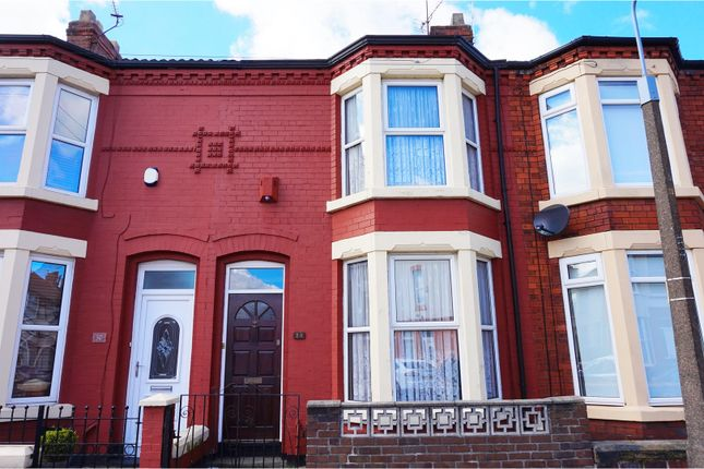 Thumbnail Terraced house for sale in Hanford Avenue, Liverpool